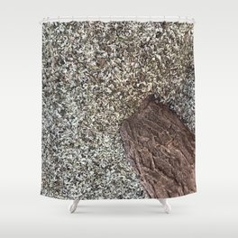 Texturas Hojas secas | CleMpasS.cOm  | Wayoyo.Org | Shower Curtain