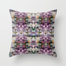 Bricolage of the Present(s) I Throw Pillow