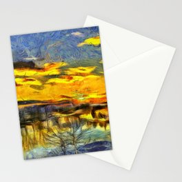 Reflections of Sunset Stationery Cards