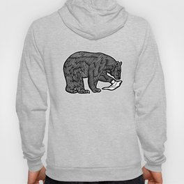 Paw The Bear - Illustration Hoody