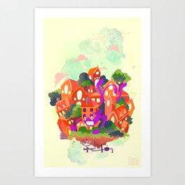 CIVICS 3 Art Print