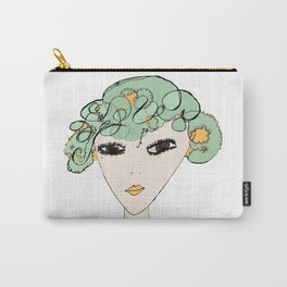 A face Carry-All Pouch