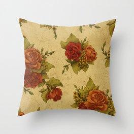 Antique Wallpaper 1 Throw Pillow