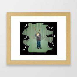 Just Pretend Framed Art Print