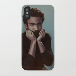 Donald Glover Painting iPhone Case
