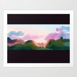 landscape1 Art Print