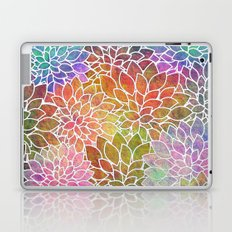 Floral Abstract 6 Laptop & iPad Skin