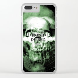 Fresh Dipped - Dollars and Skulls Clear iPhone Case