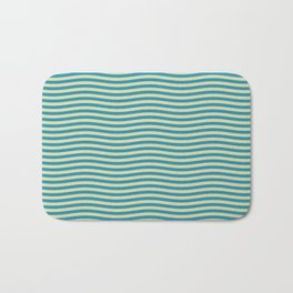 Wavy Waves Bath Mat