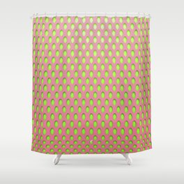 Elongated Holes1 Lusty Gallant Shower Curtain