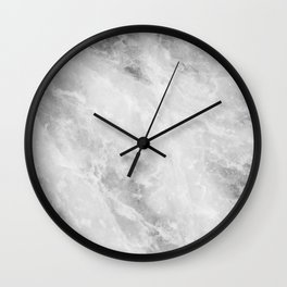 Grey Alley Marble Wall Clock