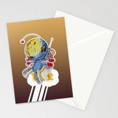 Rocket Bot Stationery Cards