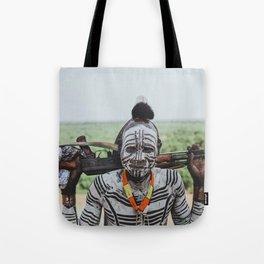Karo Tribe V Tote Bag