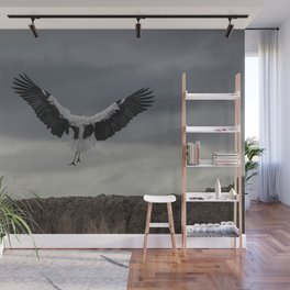 Spread your wings and land Wall Mural
