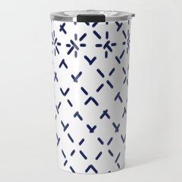 Sashiko 4 Travel Mug
