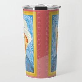 Selfie Van Gogh Travel Mug