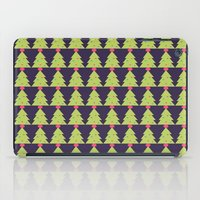 christmas tree iPad Cases featuring CHRISTMAS TREE by aztosaha