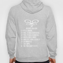 Funny Drone Commercial Or Small Drones Pilot S Hoody