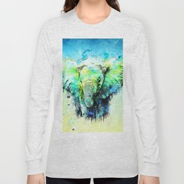 Pritty Elephant Long Sleeve T-shirt