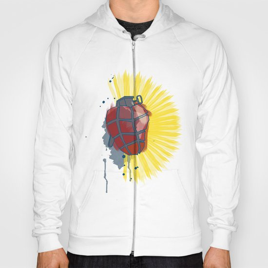 My Heart goes boom Hoody