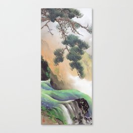 Yamamoto Shunkyo - Spring of Mountain, 1933 Canvas Print