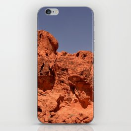 Red Valley III iPhone Skin
