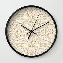 SANA GOLD Wall Clock