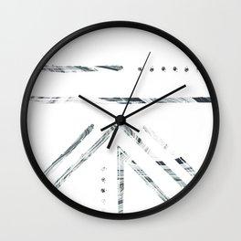 Hand Prints 001 Wall Clock