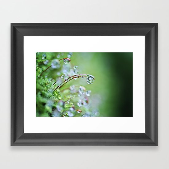 When you hear the fairies sing, you'll know you found my secret hiding place... Framed Art Print