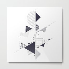 Minimalist Apstract Metal Print