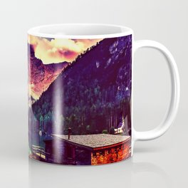 Night Sky at the lake Coffee Mug