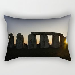 Stonehenge at Sunset Rectangular Pillow