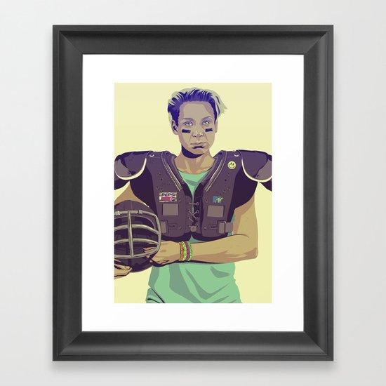 80/90s - Brie... Framed Art Print