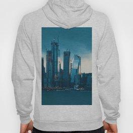 New York City Cityscape (Color) Hoody