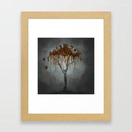 Lonely World Framed Art Print