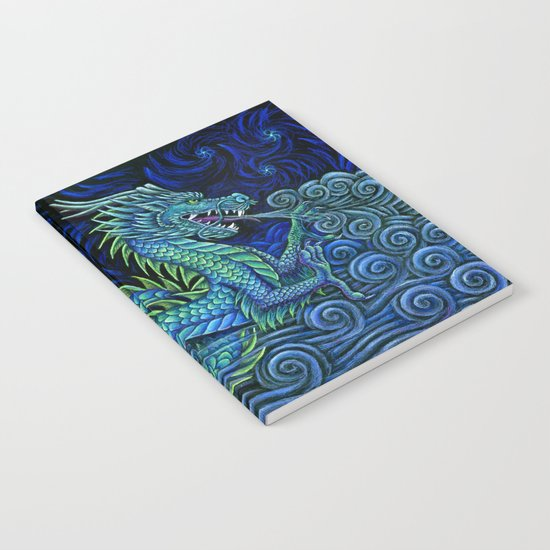 Chinese Azure Dragon Notebook