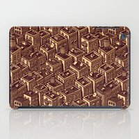 buildings iPad Cases featuring Buildings by Mario Zucca