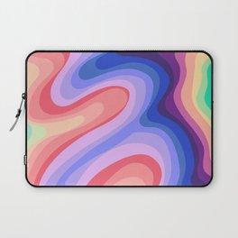 Psychedelic Rainbow 1 Laptop Sleeve