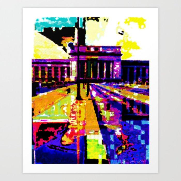 30th Street  Art Print