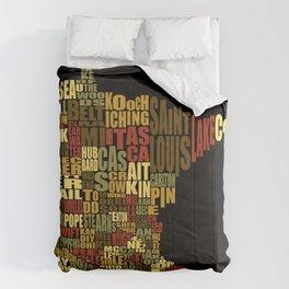 Counties Of Minnesota Comforters