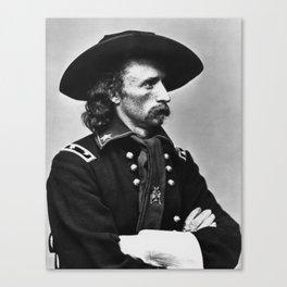 General Custer - Civil War Canvas Print