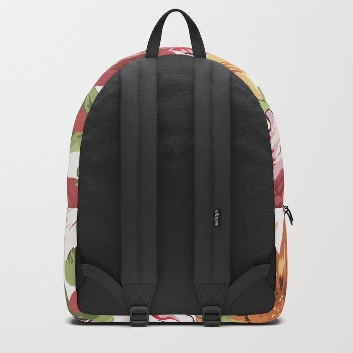 FLORAL PATTERN 7 Backpack