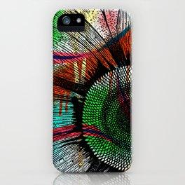 Multicolored Sunflower IV- Padgettcovidart iPhone Case