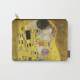 The Kiss - Gustav Klimt, 1907 Carry-All Pouch