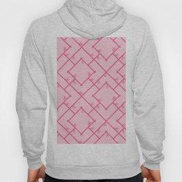 Bamboo Chinoiserie Lattice in Pink + Bubblegum Pink Hoody