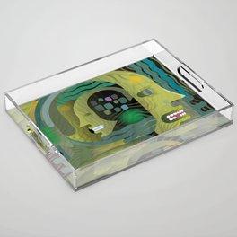 Race Against Time Acrylic Tray