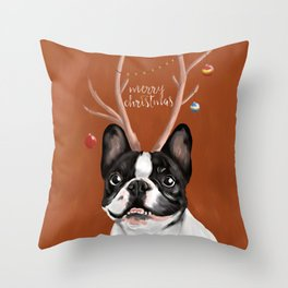 Beatriz : Christmas Throw Pillow