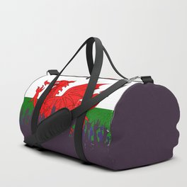 Welsh Flag with Audience Duffle Bag
