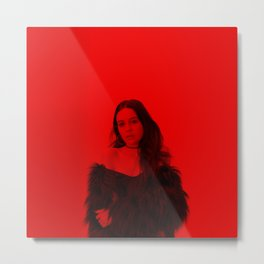 Bea Miller - Celebrity (Florescent Color Technique) Metal Print