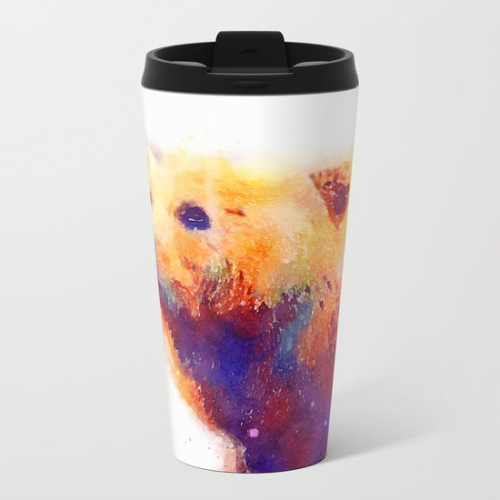 The Protective - Bear Metal Travel Mug